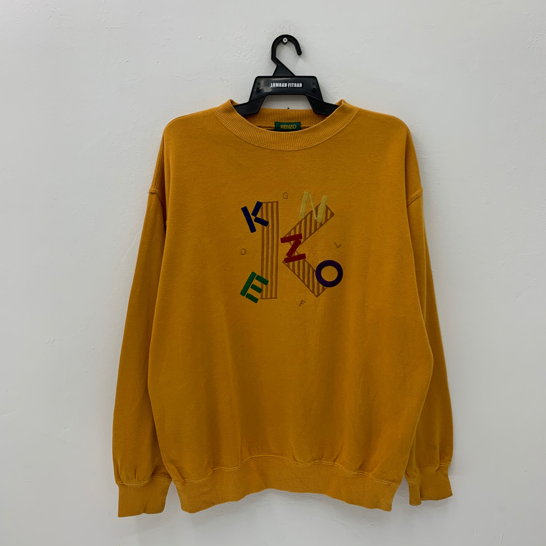 Kenzo Jumper Vintage 90S Embroidery Logo Nice!