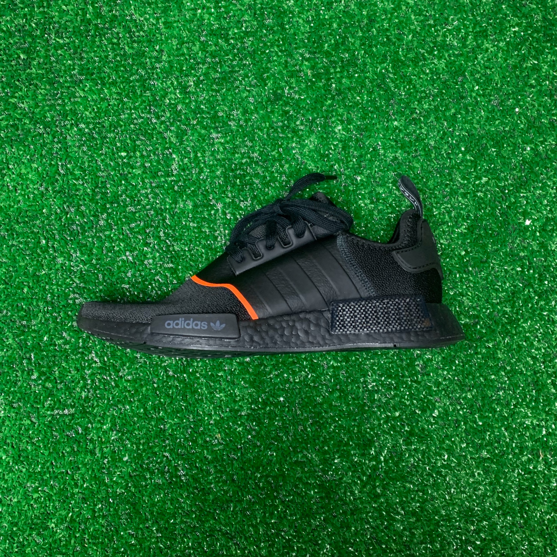 adidas NMD R1 Core Black Solar Red
