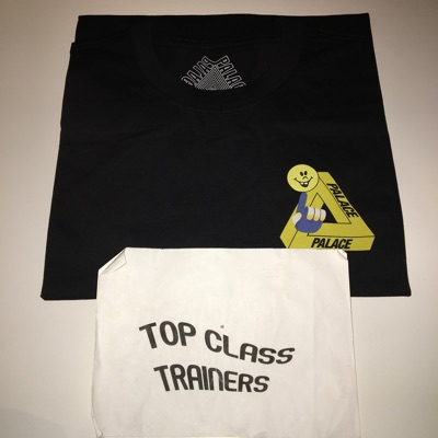 Palace Tri-Smiler T-Shirt Black Large Triferg Tee