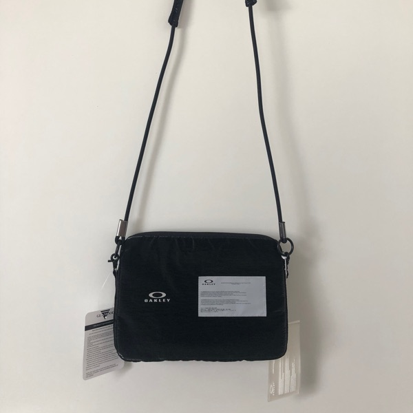 Black Oakley X Samuel Ross Utility Bag