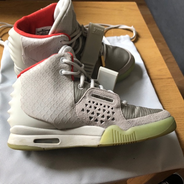 Nike Air Yeezy 2 Nrg Pure Platinum