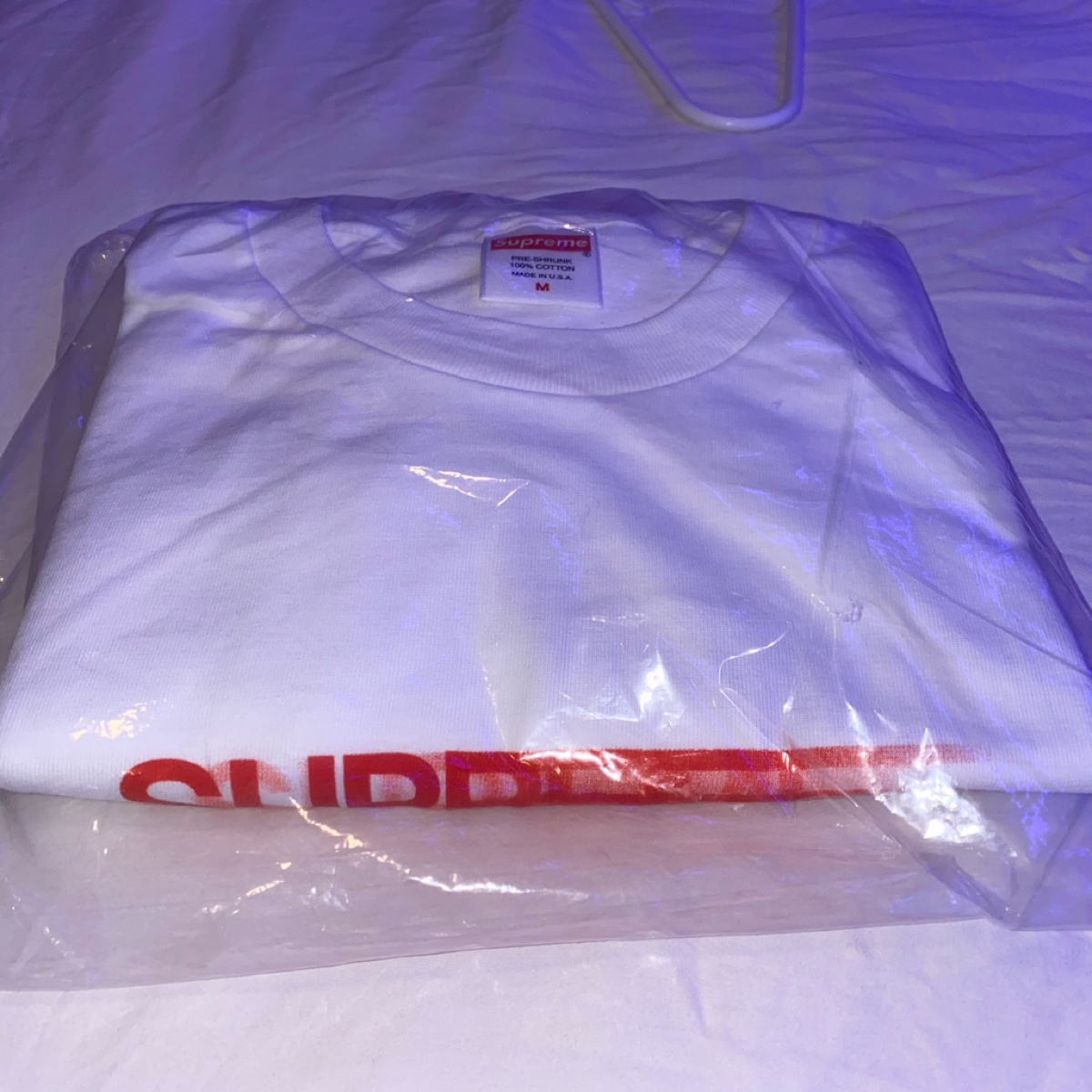 Supreme Motion Logo Tee White