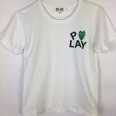 Womens Comme Des Garcons Play Tee