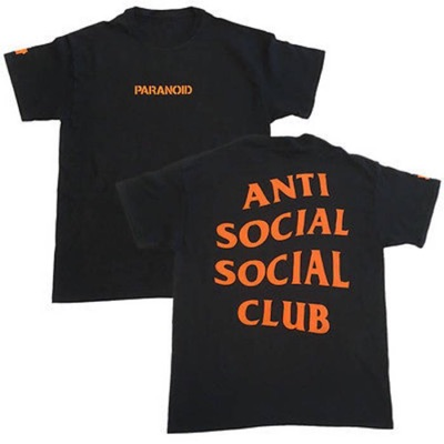 Assc X Undefeated Black Paranoid Tee Xl