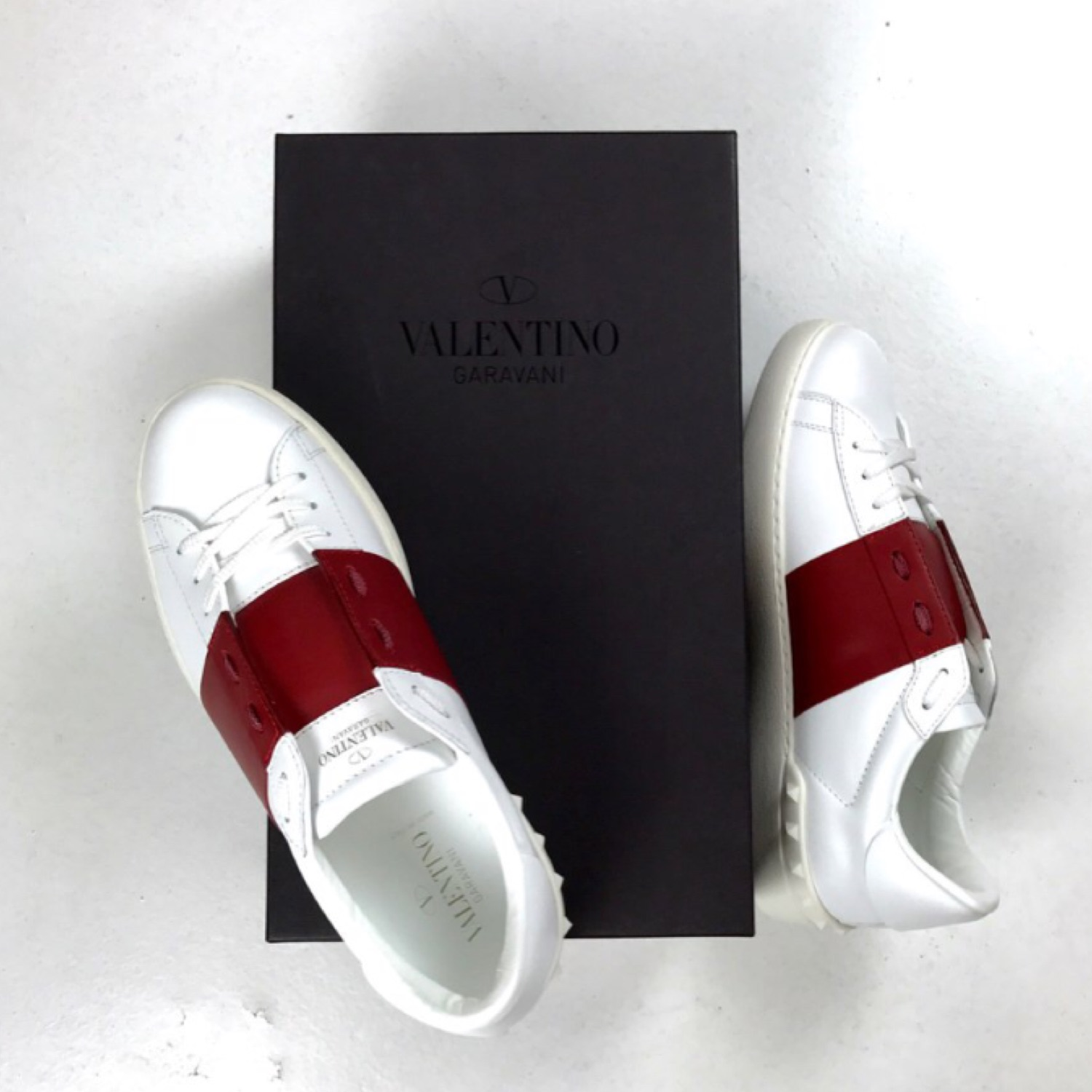 Valentino Open Low Top Sneakers Trainers
