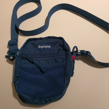 SS17 Supreme teal shoulder bag