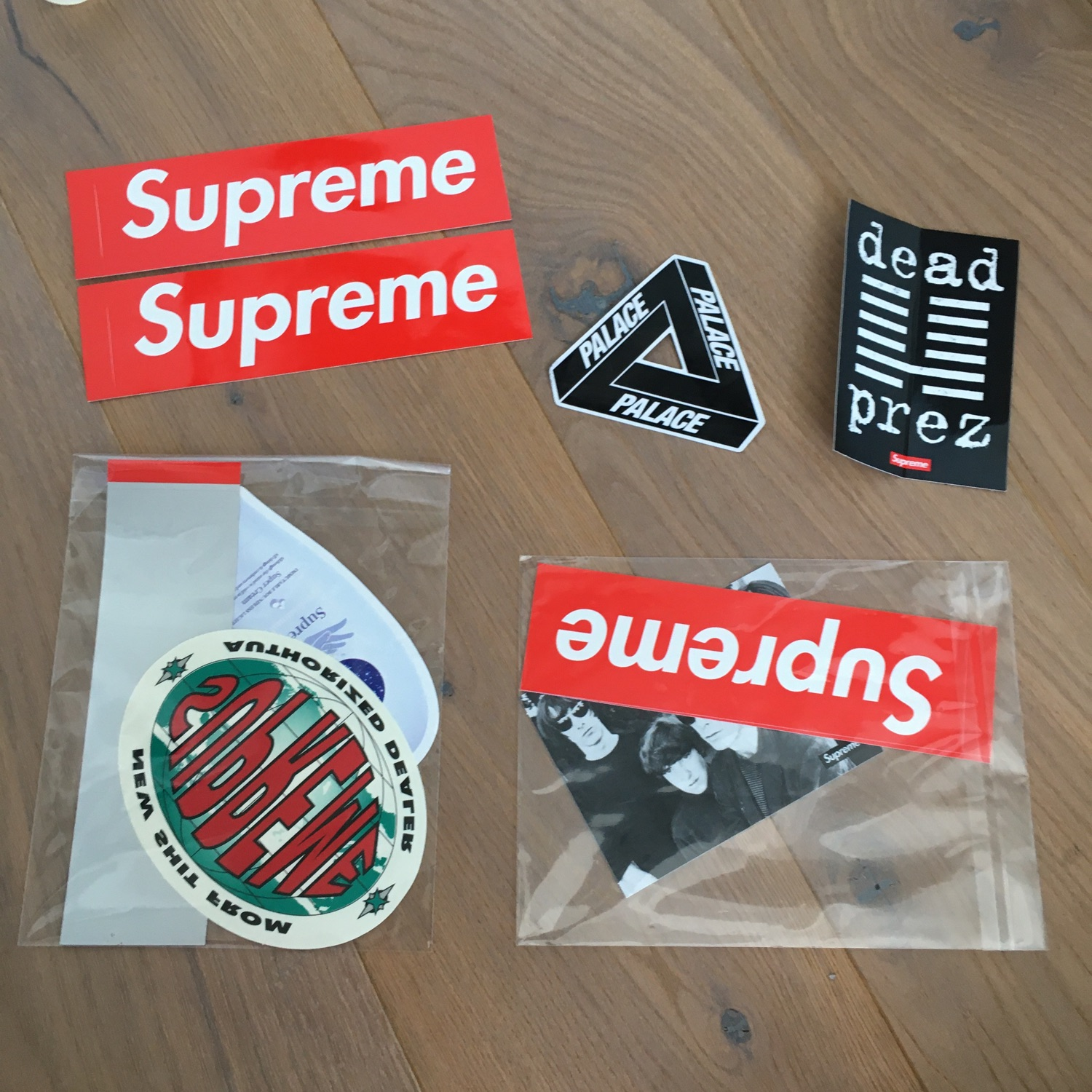 Variety Of Stickers