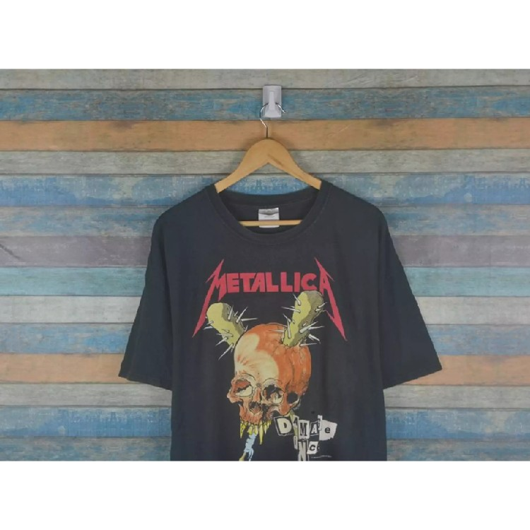 0bc359dd ROCK T SHIRT Vintage 1994 Metallica Damage Inc tour shirt Size: US XL / EU  56 / 4