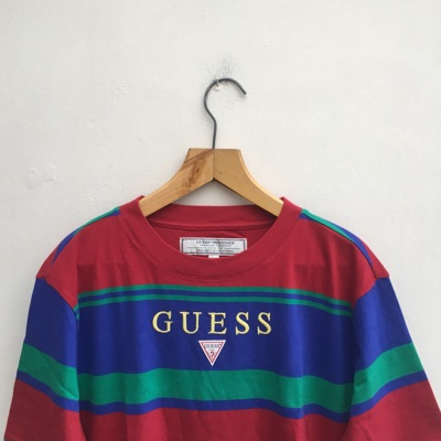 Guess Striped T Shirt - Size S - Brand New
