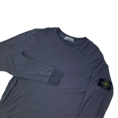 Stone Island Grey Long Sleeve Tee