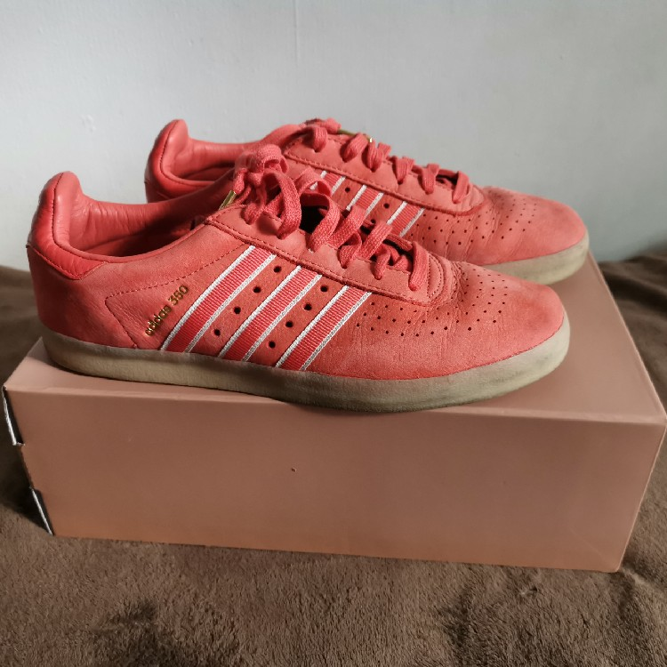 the best attitude c89ce 2ee66 Adidas X Oyster Holdings 350 coral suede UK 9