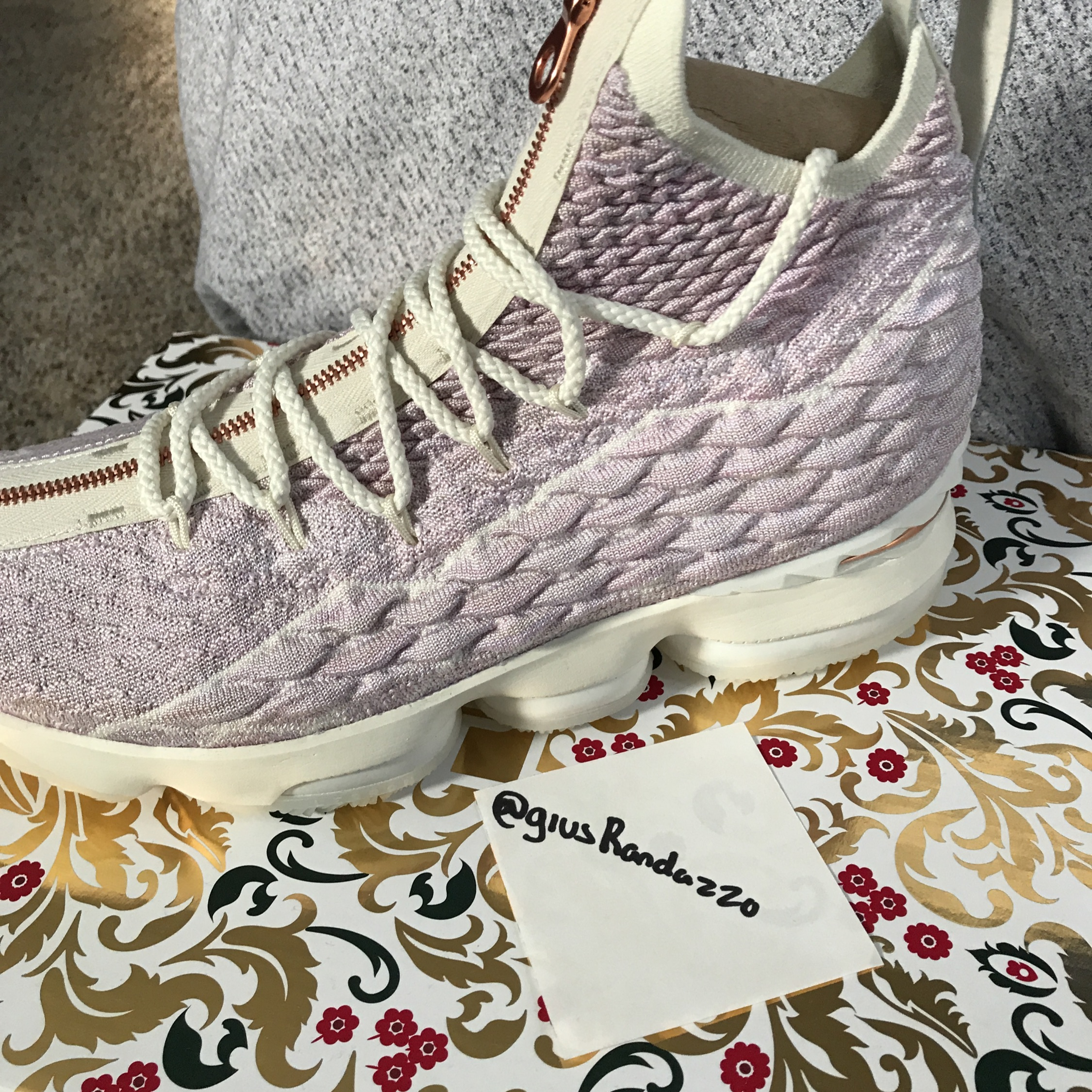 newest 8a311 83790 Lebron 15 X Kith Performance Collab