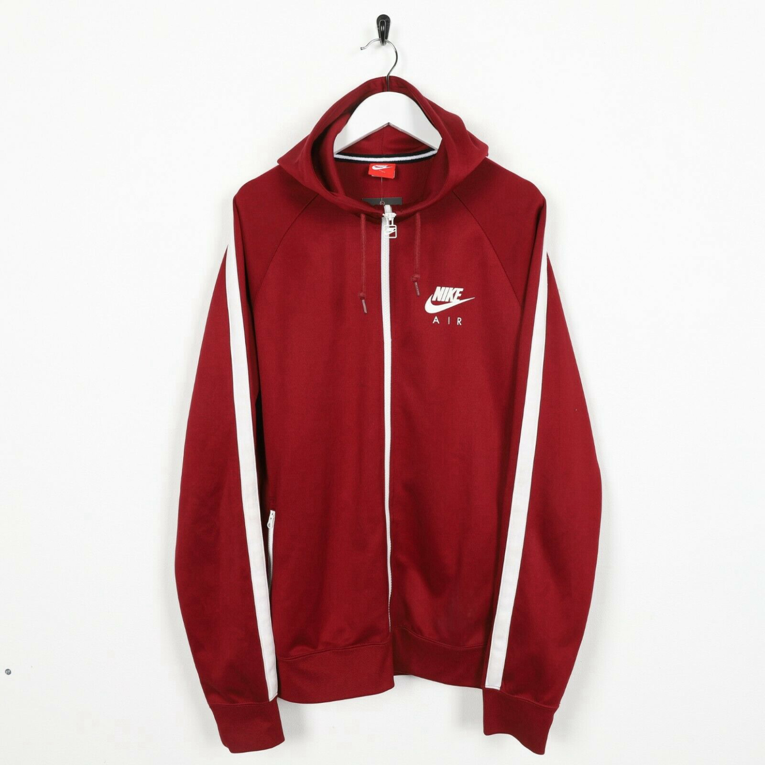 Vintage Zip Sweatshirt Red about Nike Dept Up L Details The