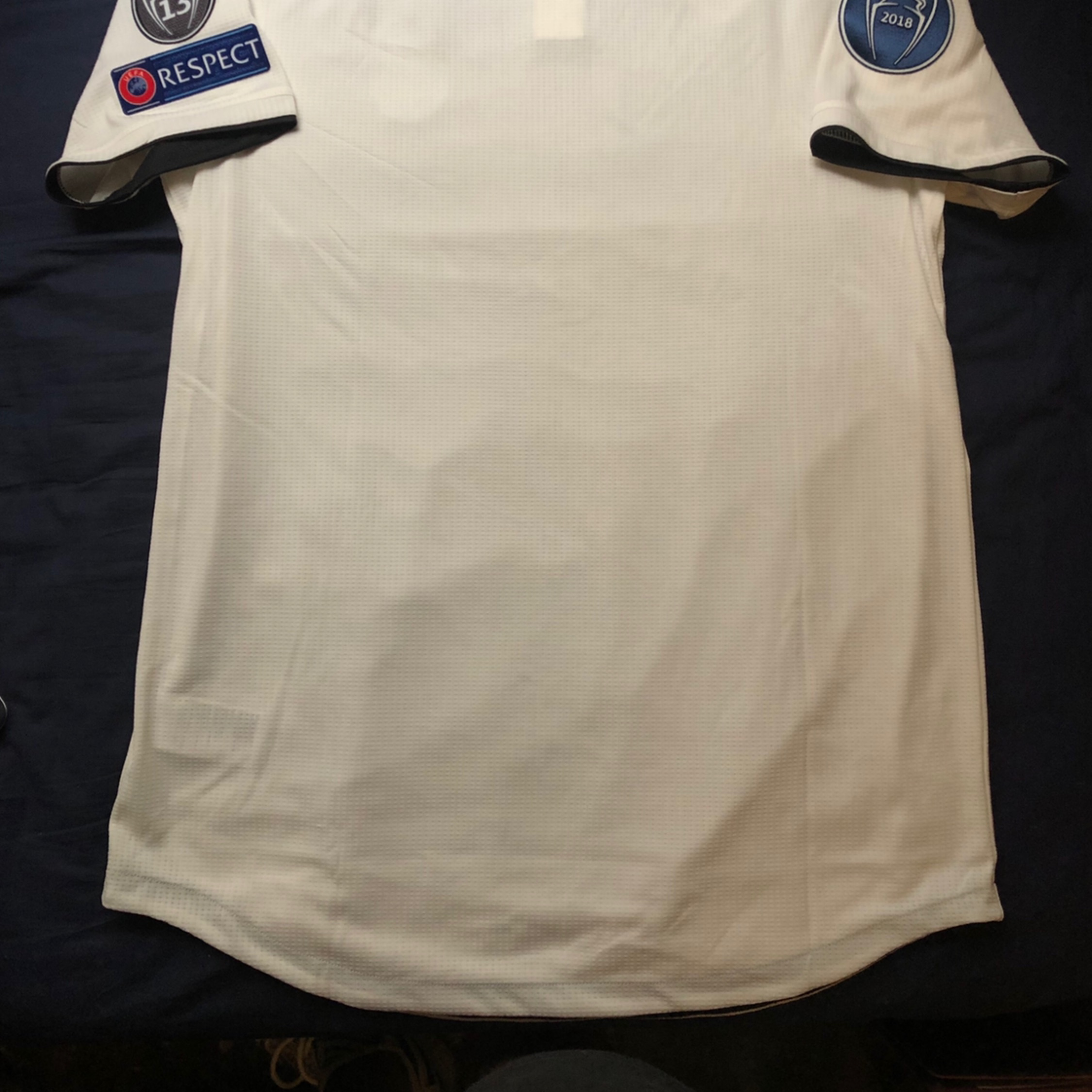 reputable site e48c9 1aab6 Real Madrid Jersey(Authentic) 2018-2019
