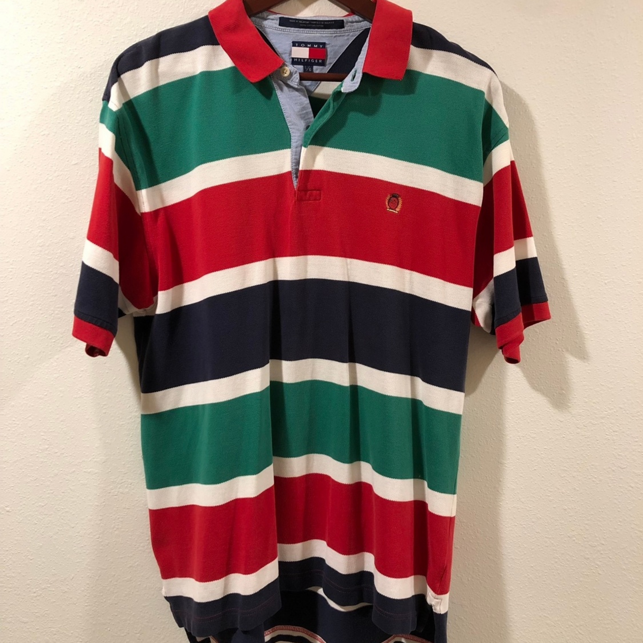 Authentic vintage Tommy Hilfiger polo shirt