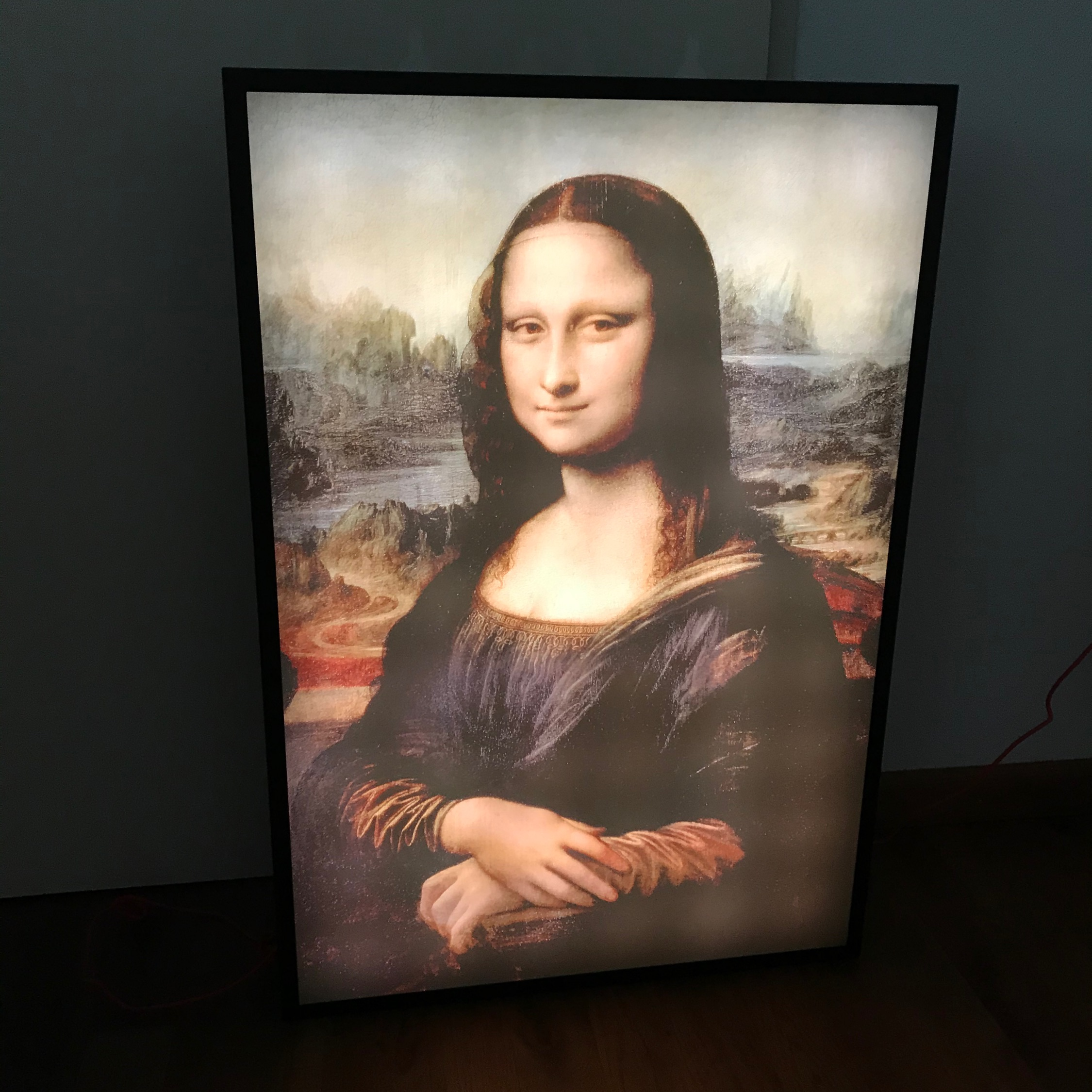 Ikea X Off White Mona Lisa Backlit