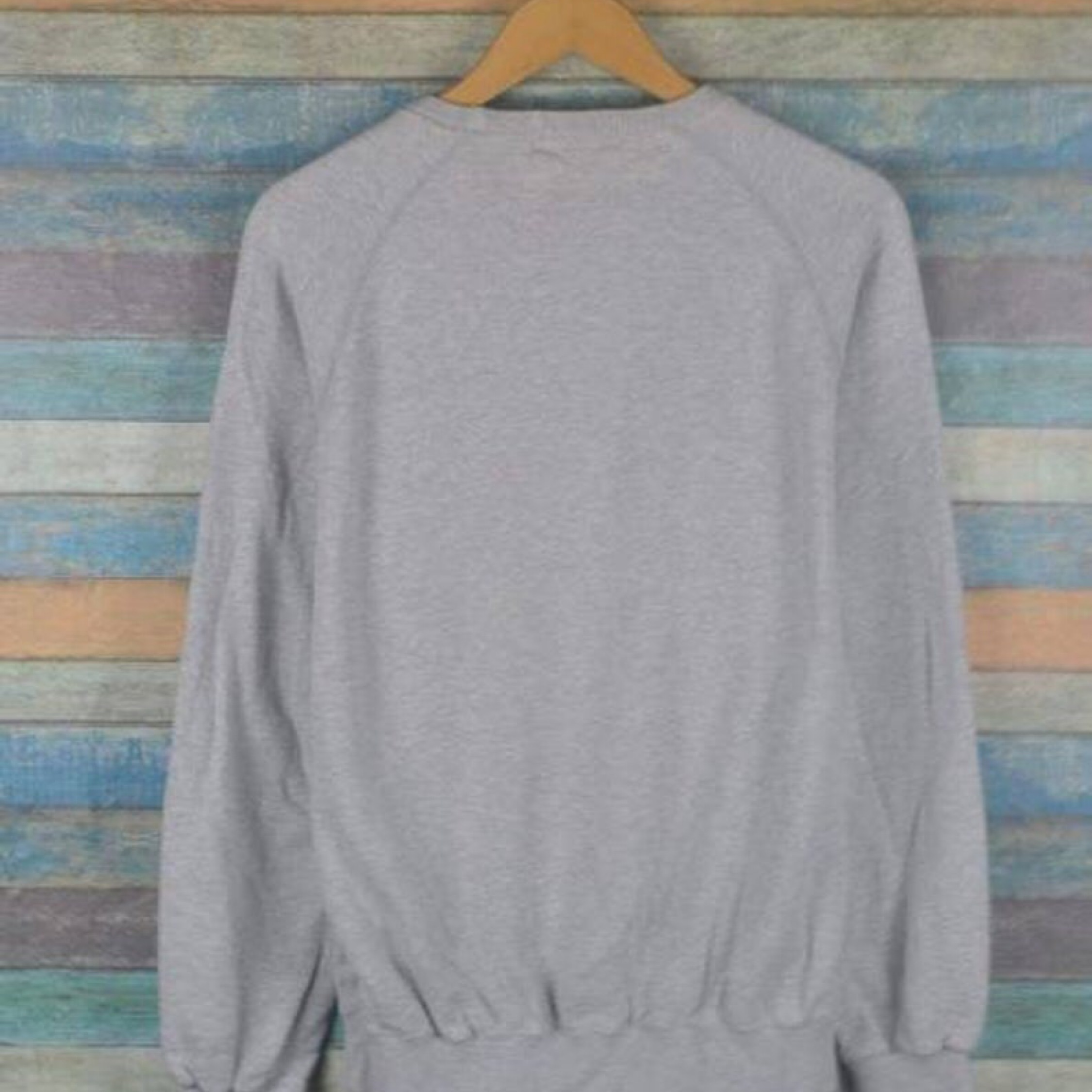 Vintage Polo Ralph Lauren Pony 90S Grey Sweatshirt