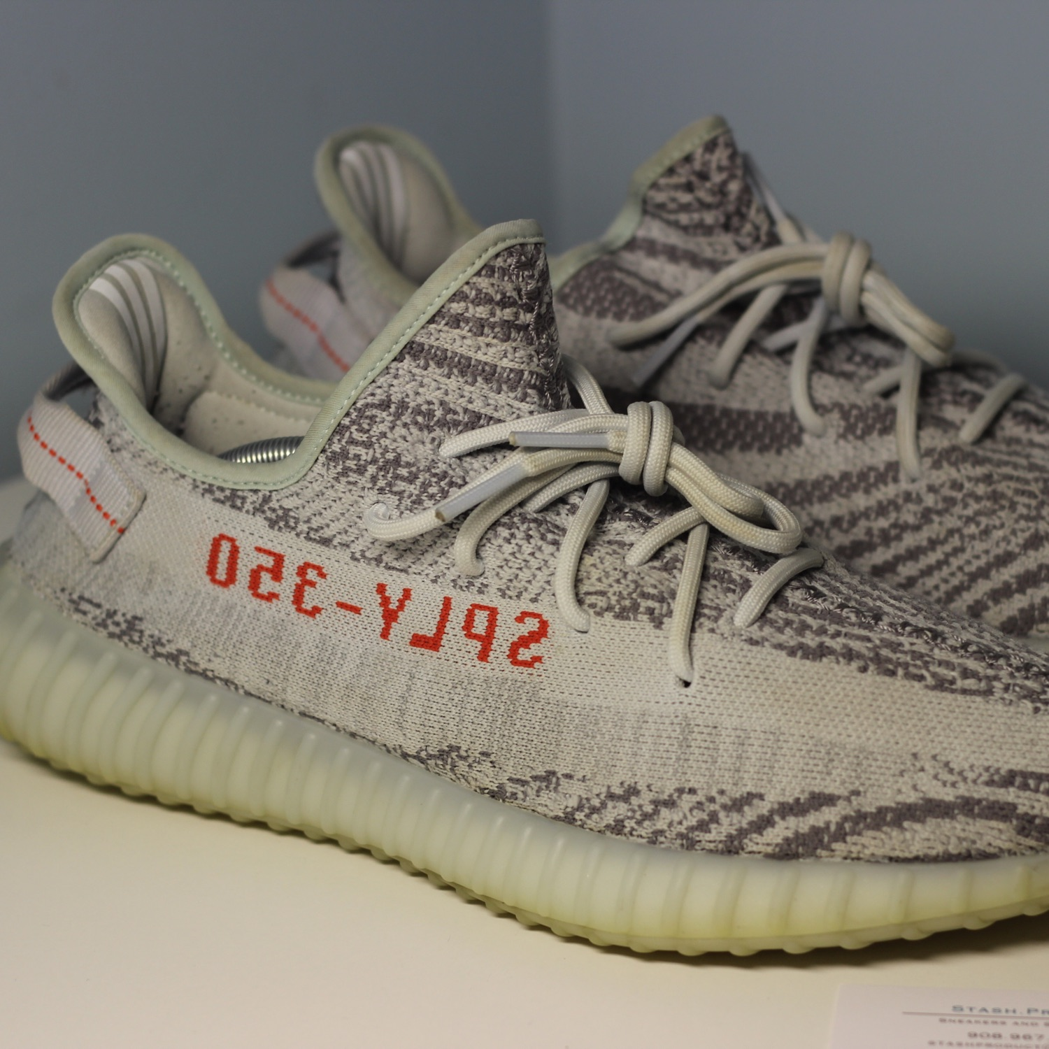 first rate 83748 66ec0 Adidas Kanye West Yeezy Boost 350 V2 Blue Tint 12