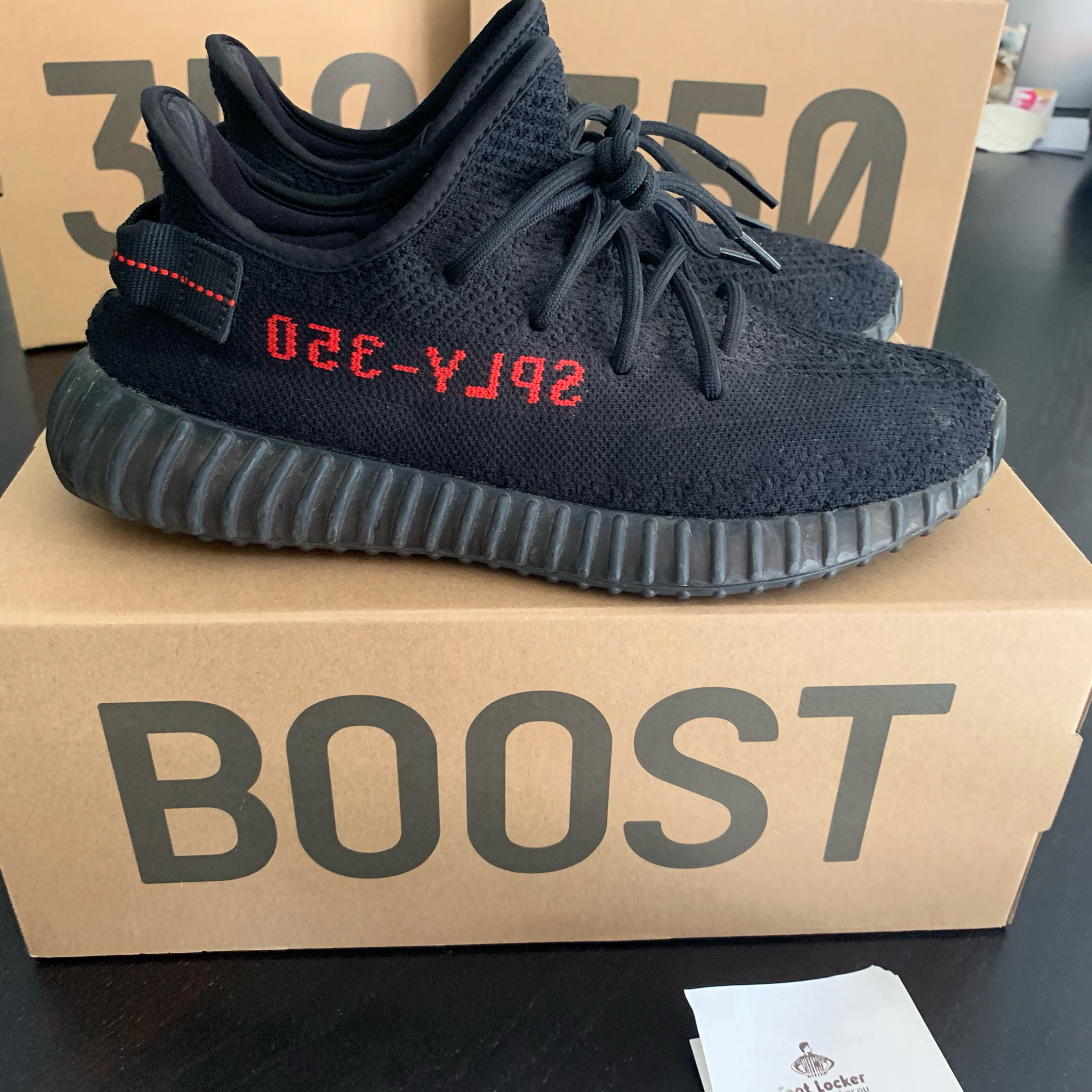 low cost 94504 37ab6 Adidas Yeezy Boost 350 V2 Bred