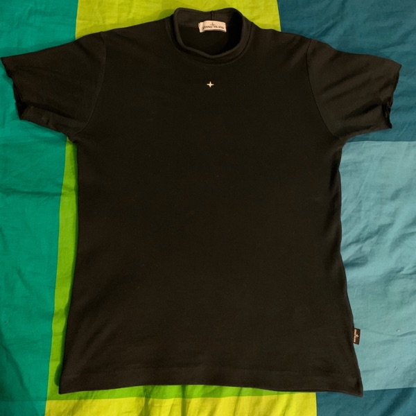 Stone Island T-Shirt, Size S, Blue Navy