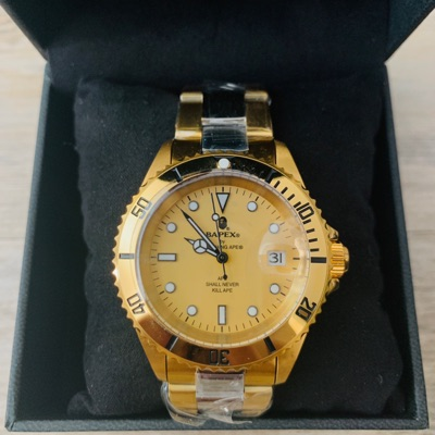 Bape Bapex Watch Type 1 Gold