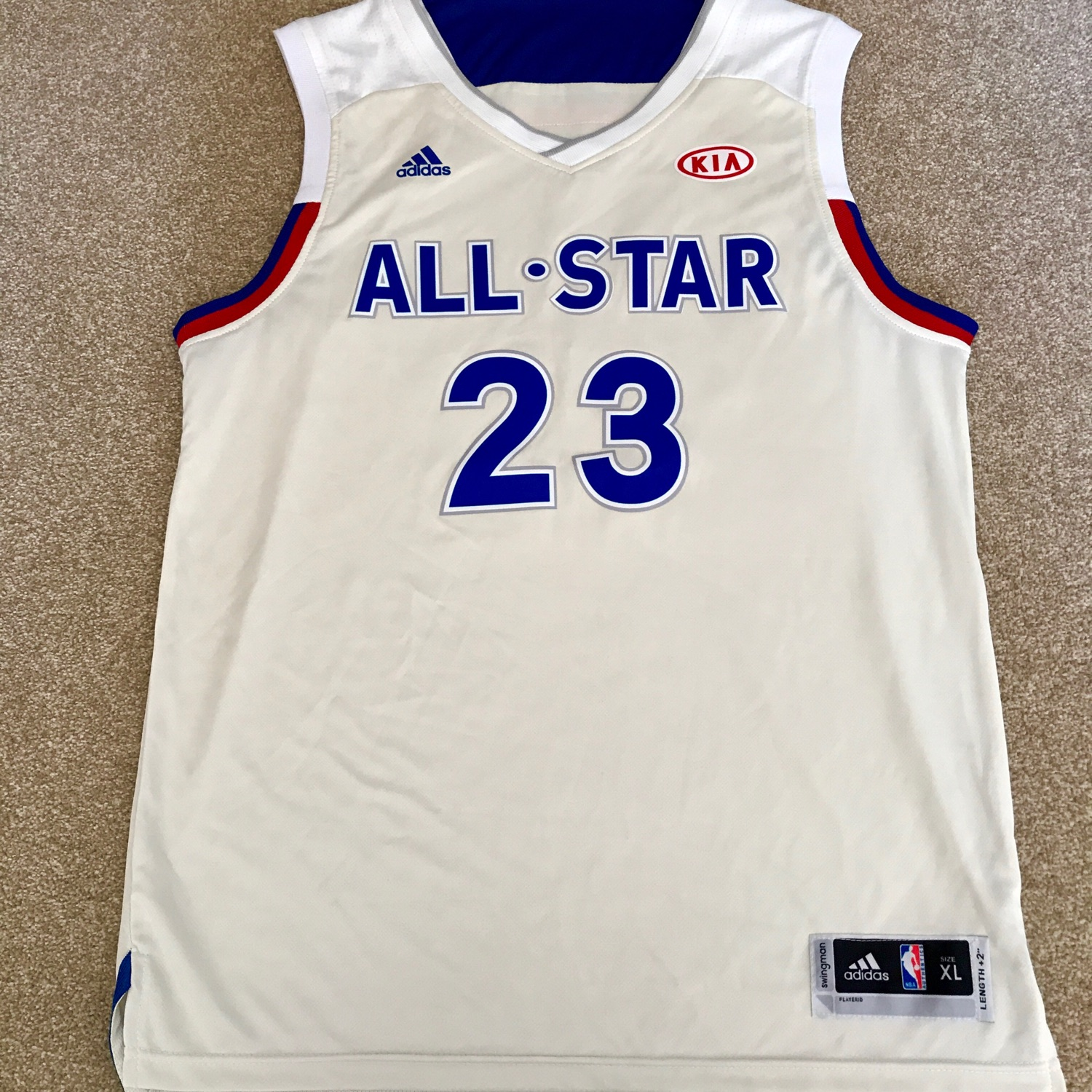 buy online 1cfe1 1ed29 Lebron James Eastern Conference All-Star Jersey