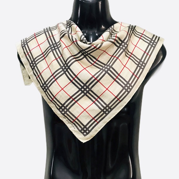 Burberry Nova Check Silk Scarf