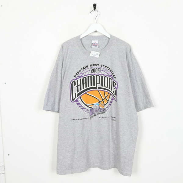 Vintage USA Pro Mountain West Conference Champions Big Logo T Shirt Grey | 2XL