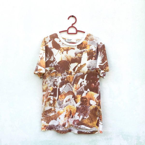 Hussein Chalayan Full Print Tee Made In Italy