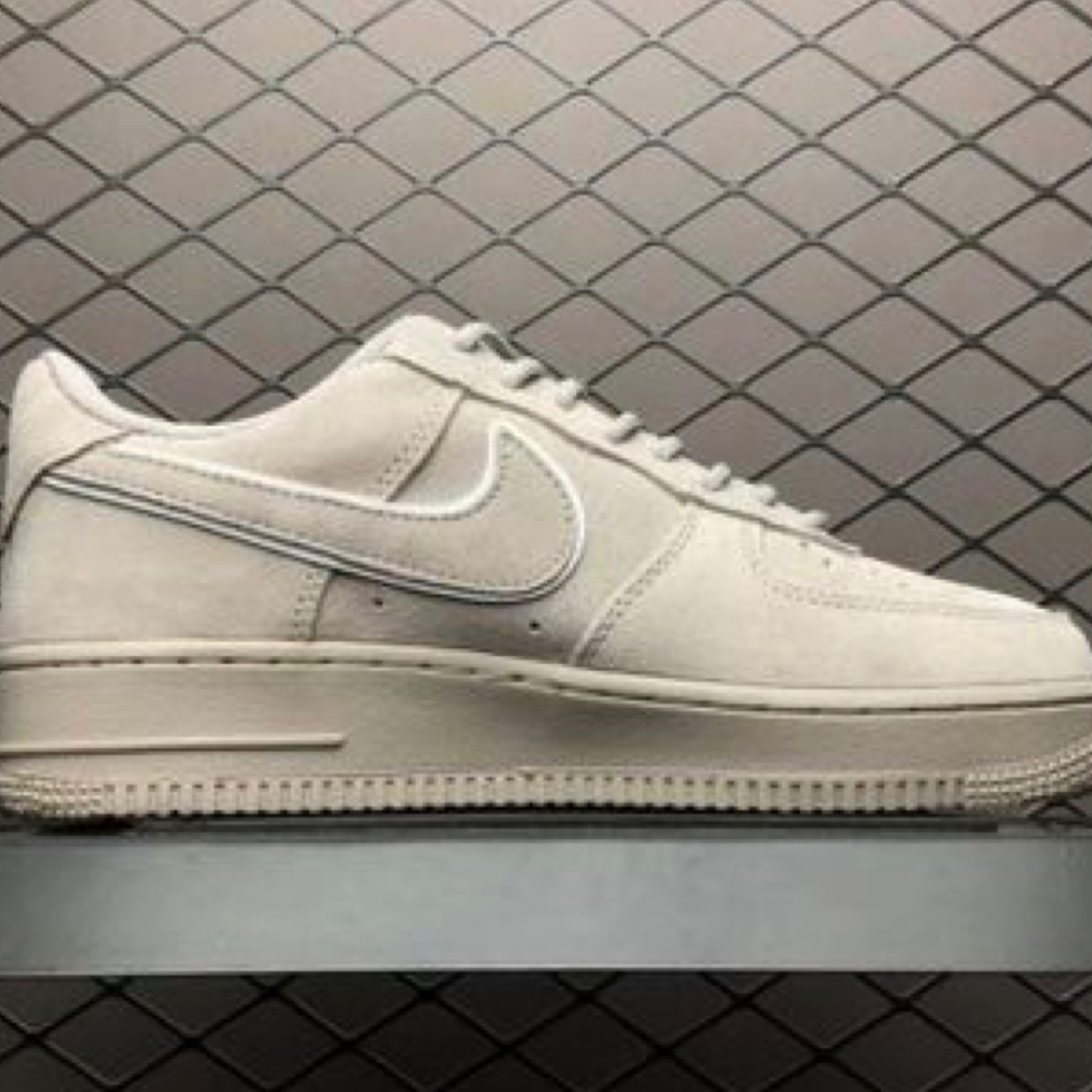 info pour 681ee cf9c0 Nike Air Force 1 Low '07 Suede Grey