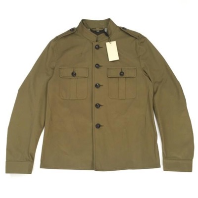 Burberry Olive Military Field Jacket Nwt