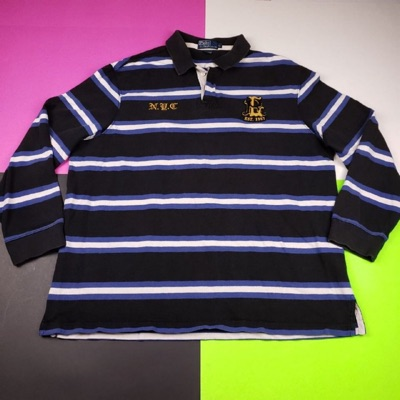 Vintage 90'S Polo Ralph Lauren Rugby Shirt