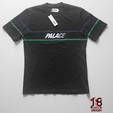 Palace Double Bubble T-Shirt Black