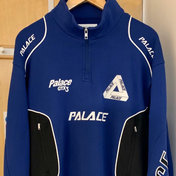Palace P Racer Top Navy