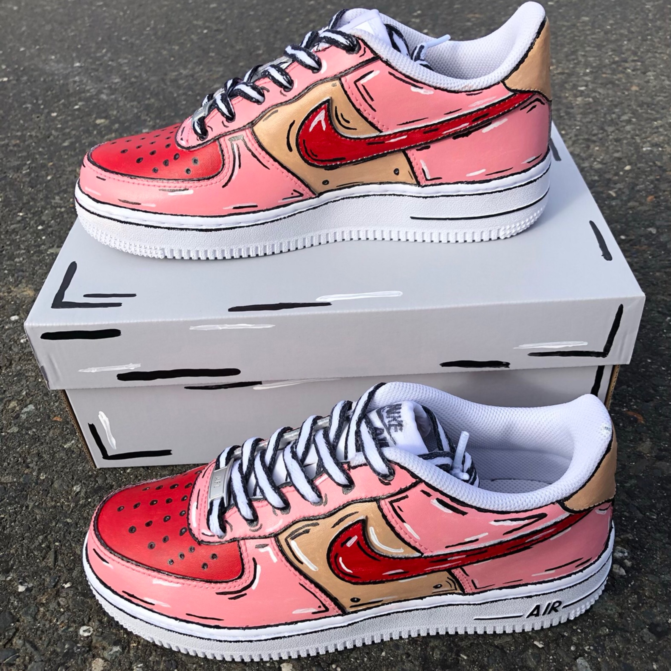 air force 1 cartoon