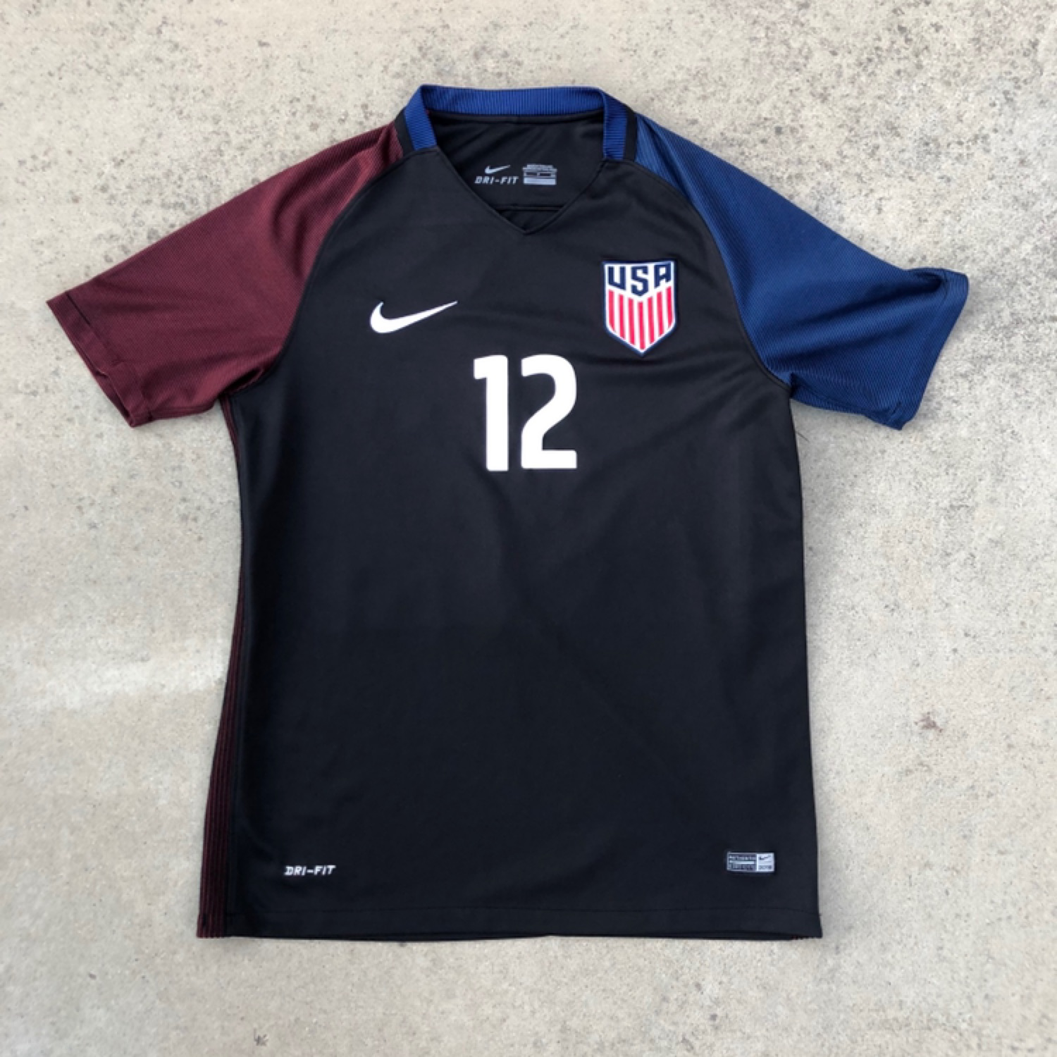 Nike DriFit Men/'s US USA Soccer Football Authentic Jersey NWT