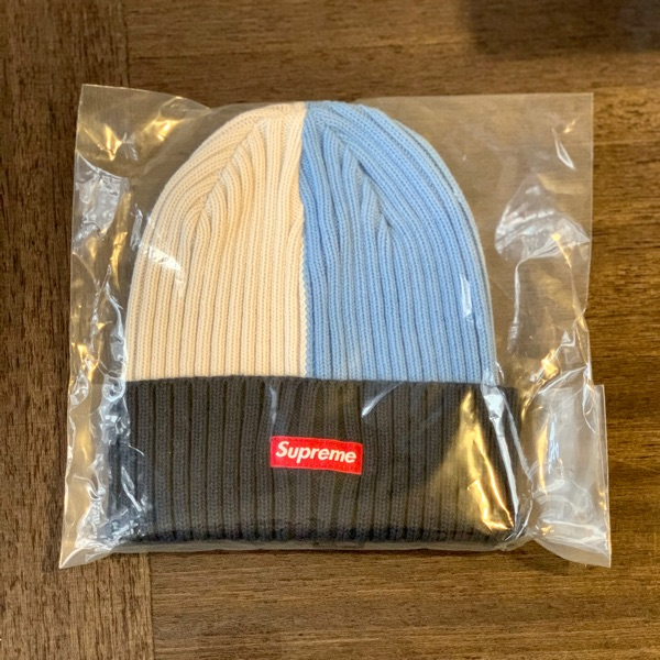 Supreme Overdyed Beanie Mixed Light Blue