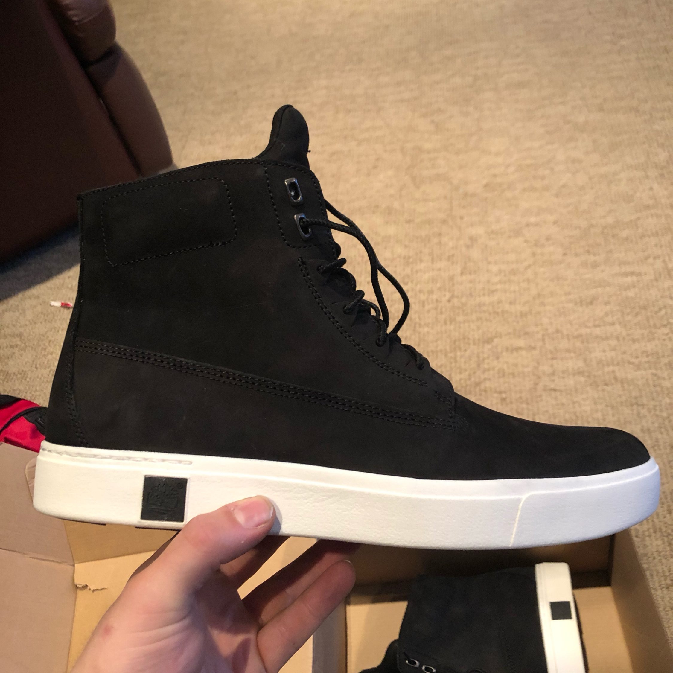 timberland amherst high top homme