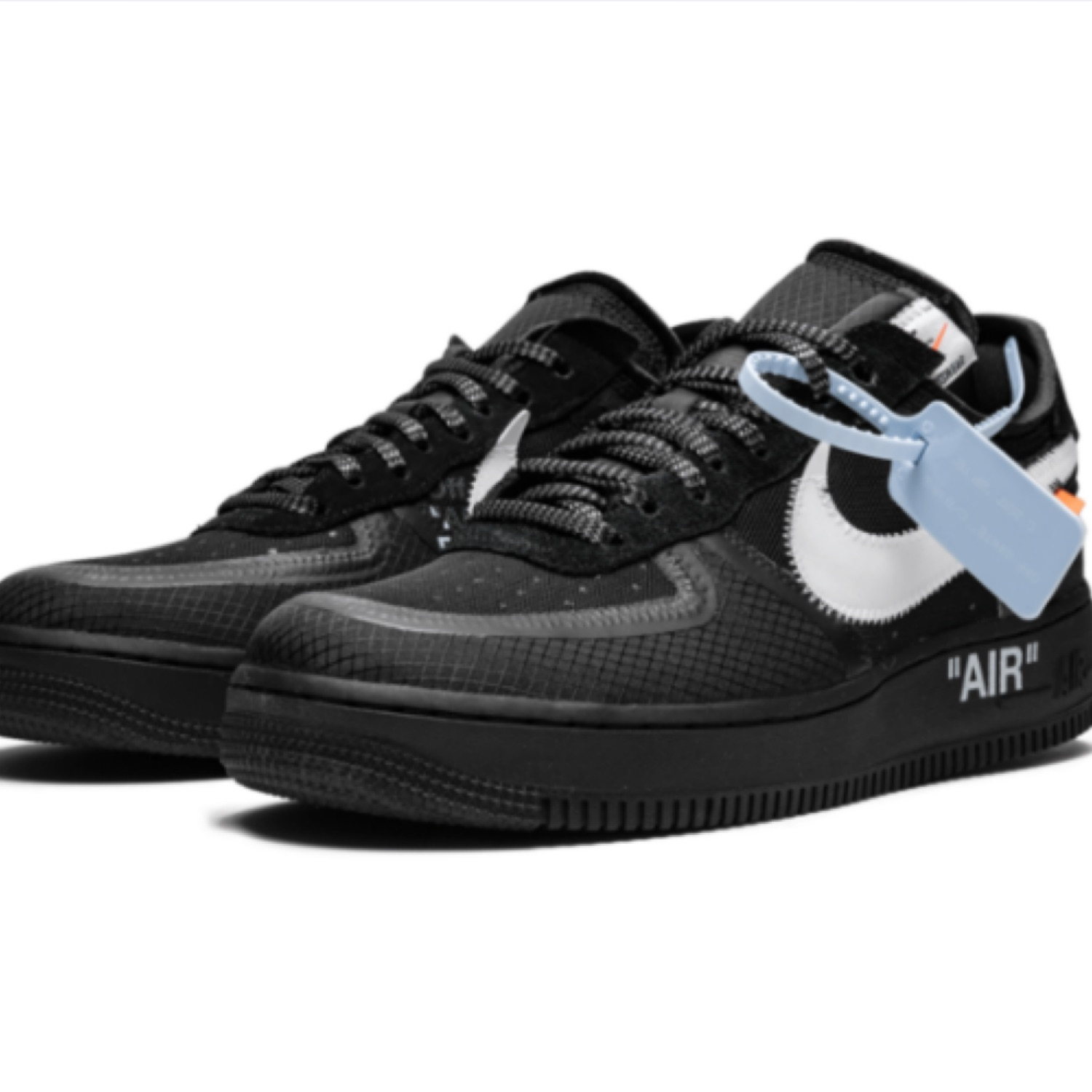 Off-White X Nike Air Force 1 Low Black 'The Ten'