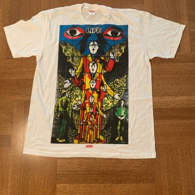 Supreme Gilbert And George White T Shirt