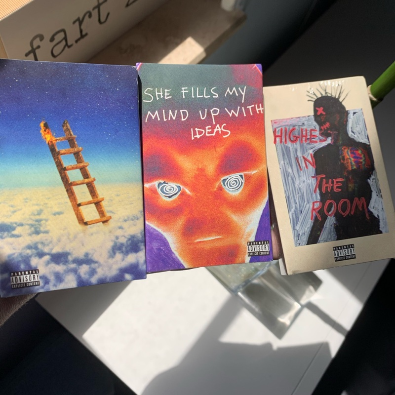 Highest In The Room Cassette Tapes (All 3)