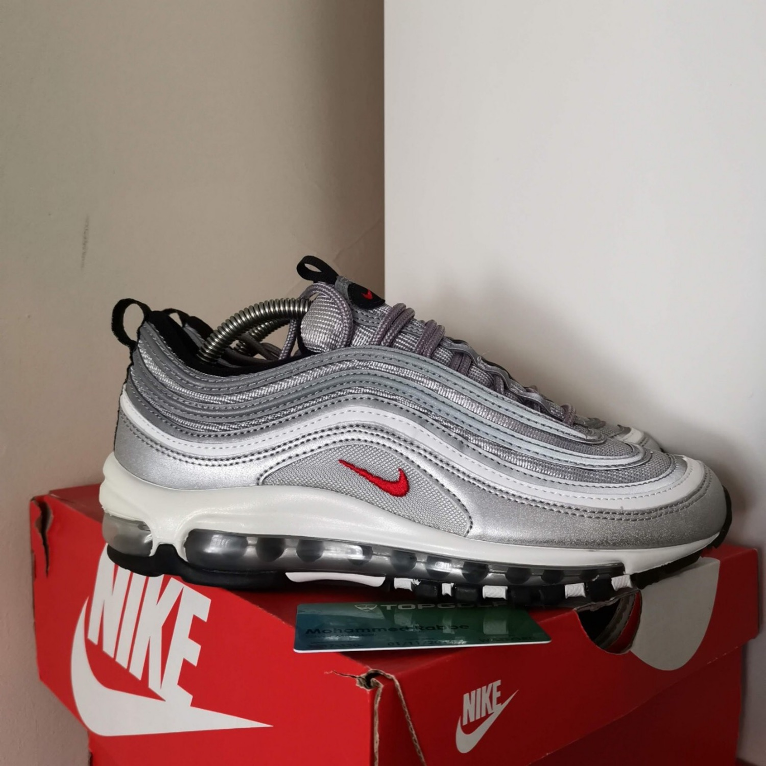 Nike Air Max Plus QS Silver Bullet 903827 001 Metallic