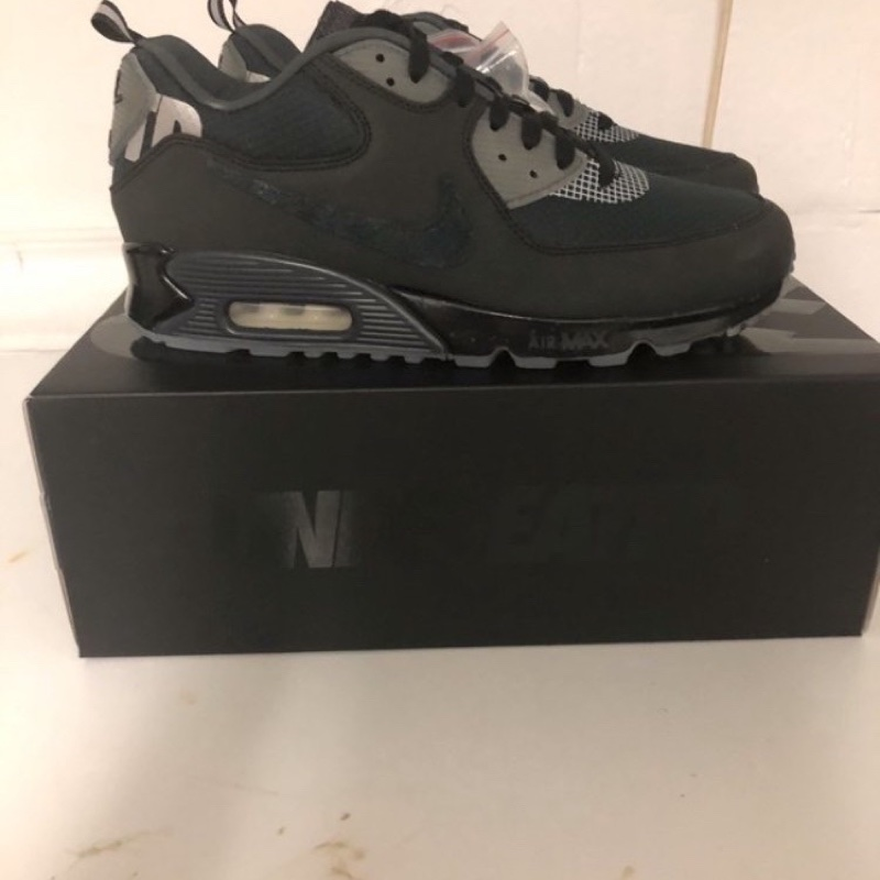 Air Max 90 Undefeated Black Solar Red (TD)