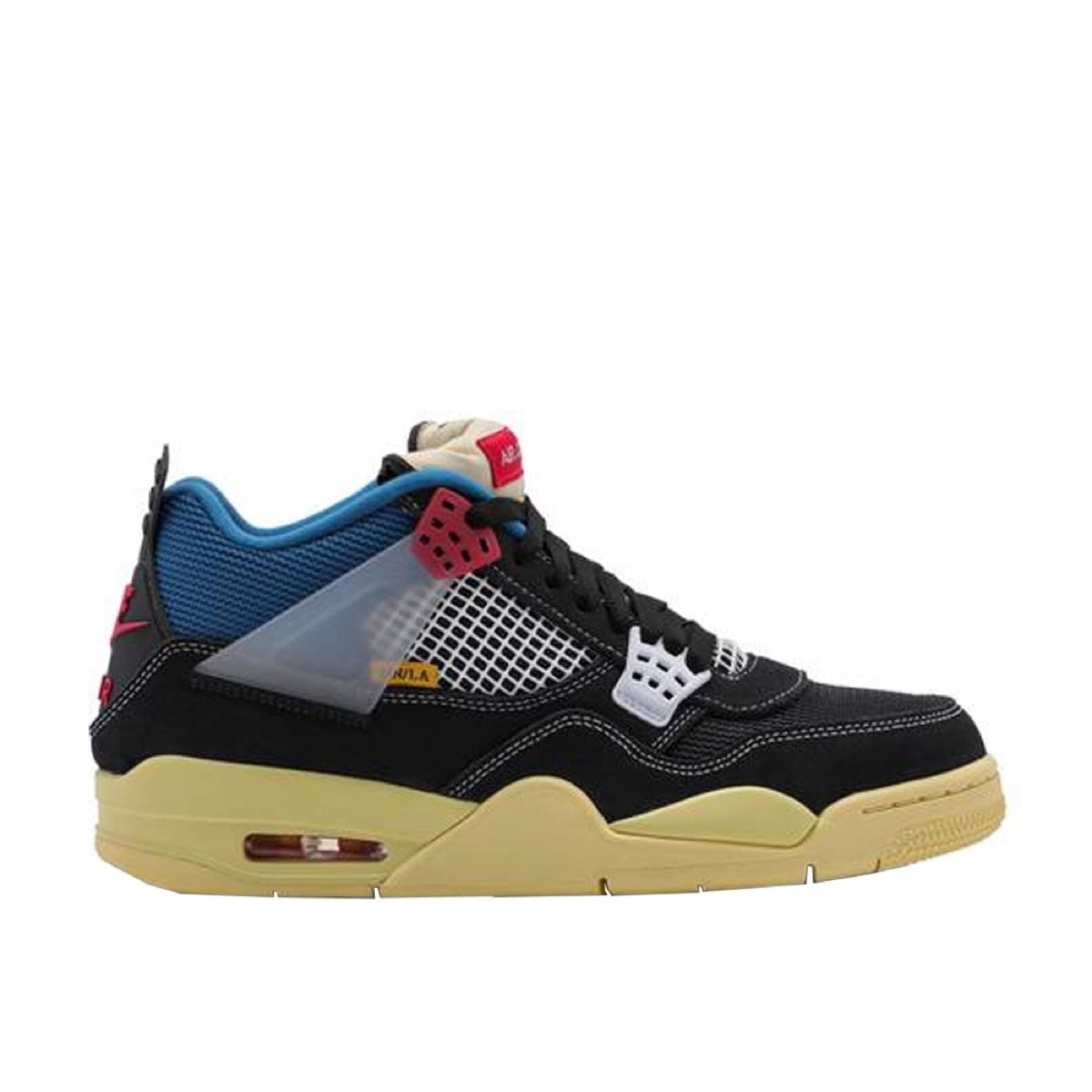 Jordan 4 X Union LA Retro Off Noir