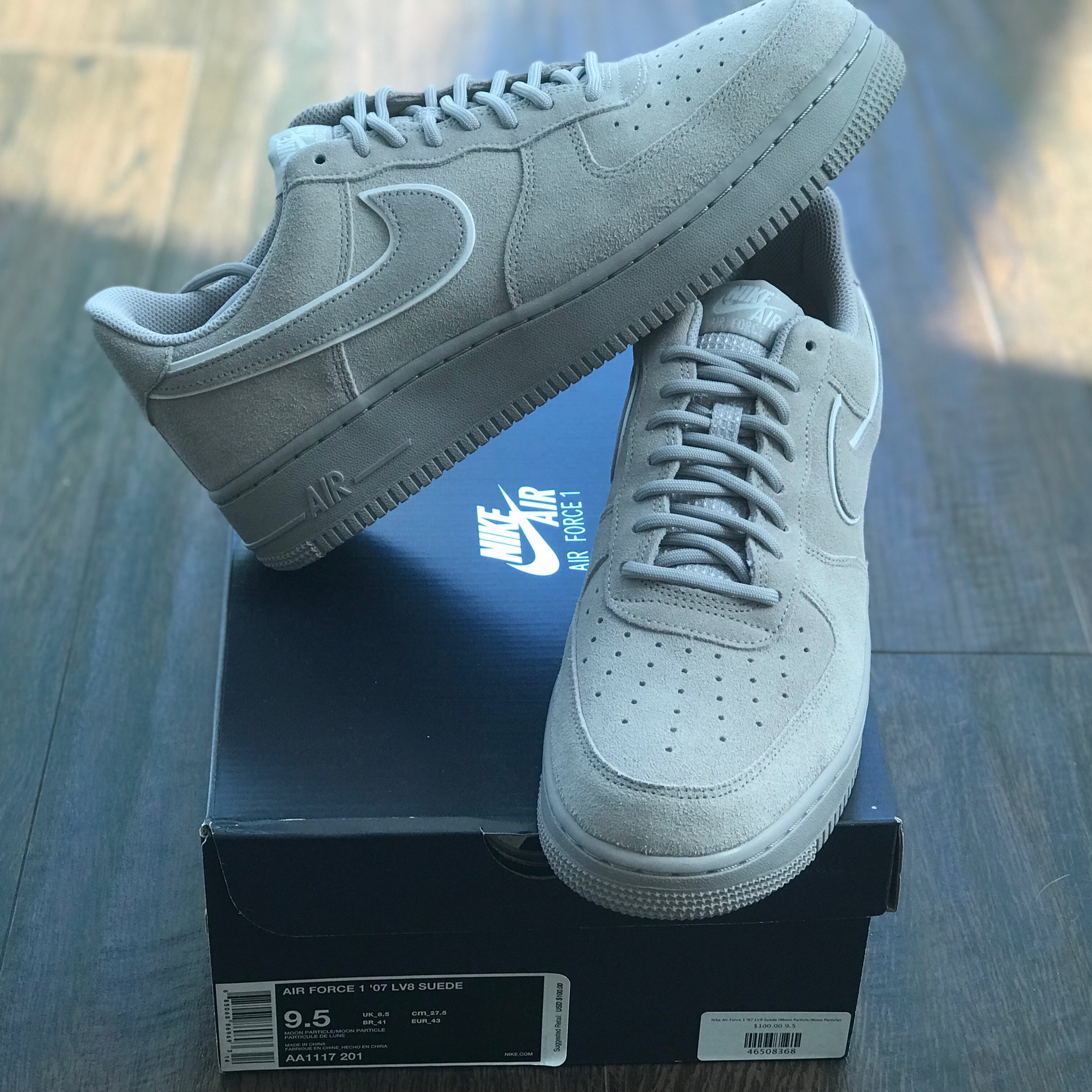 Nike Air Force 1 '07 Lv Suede Moon Particle