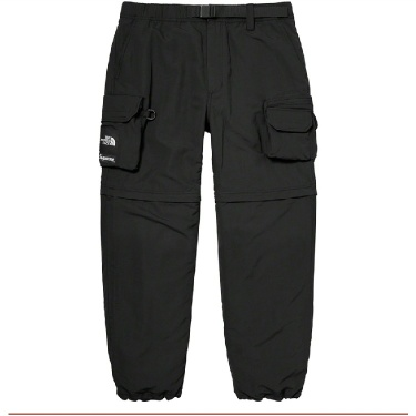 Supreme The North Face Belted Cargo Pant Black