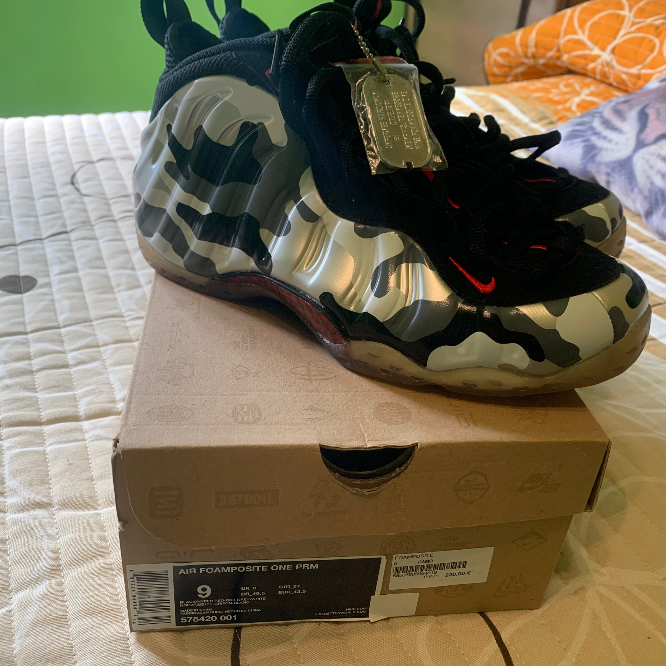 Nike Air Foamposite One PRM ASG All Star Game Northern ...
