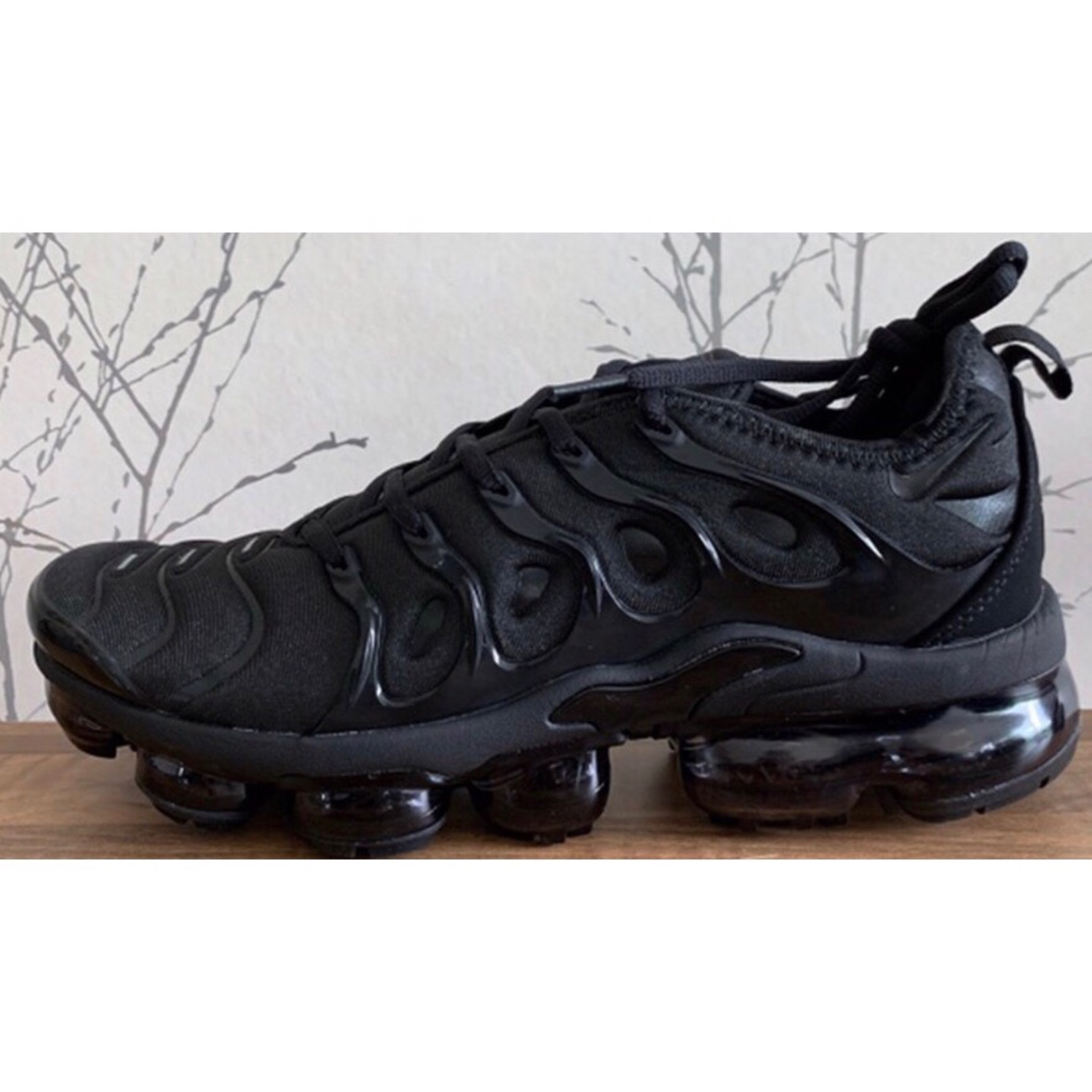 huge discount 342d7 45bba Nike Vapormax X Tn Triple Black