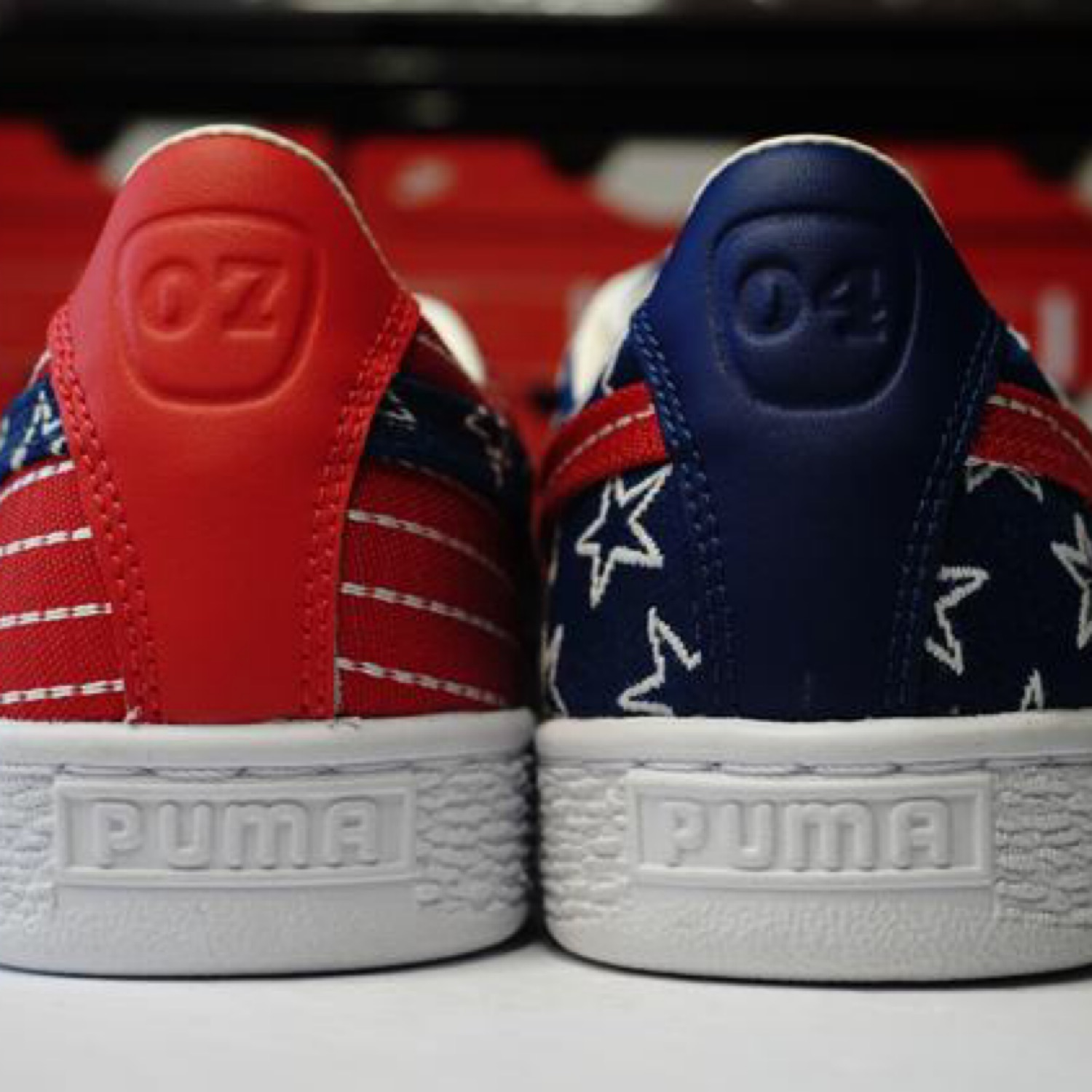 puma basket classic 4th of july
