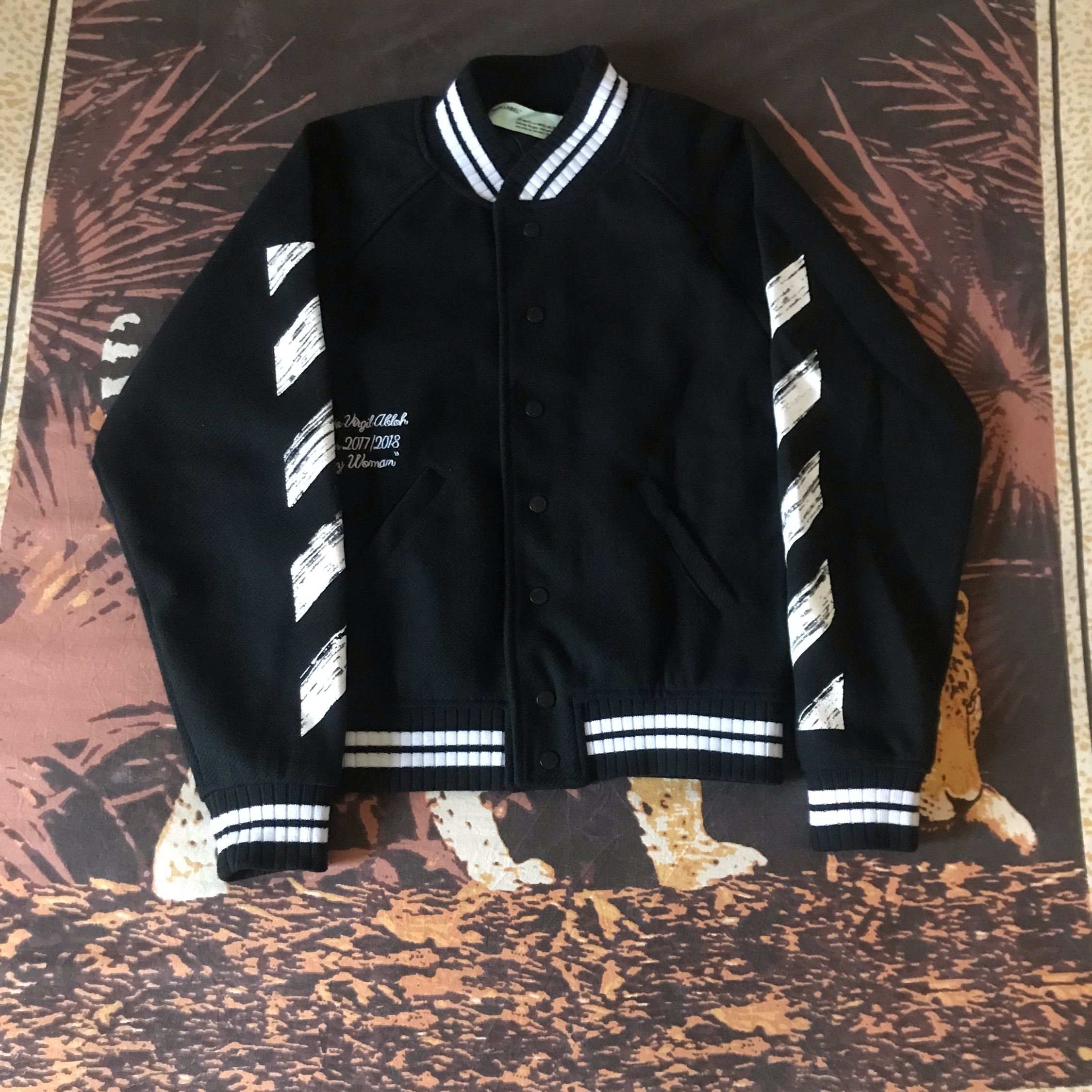Off White College Jacket